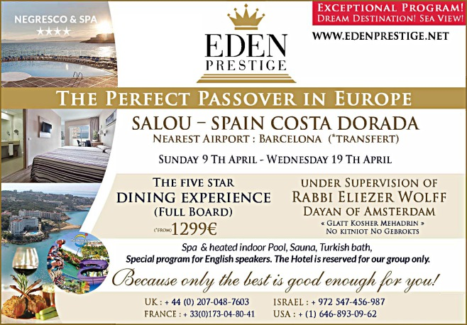 passover 2016 program pesach in europe spain kosher